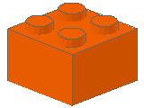 %3003 ブロック[オレンジ]2x2