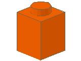 %3005 ブロック[オレンジ]1x1