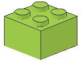 %3003 ブロック[黄緑]2x2