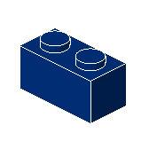 %3004 ブロック[紺]1x2