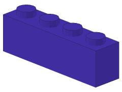 %3010 ブロック[青紫]1x4