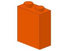 %550 ブロック[オレンジ]1x2x2