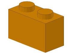 %3004 ブロック[黄褐色]1x2