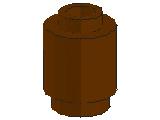 %3062B ブロック[旧茶]1x1(丸)