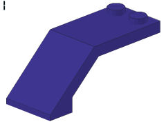 %6070 風防[青紫]5x2x1.3