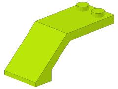 %6070 風防[黄緑]5x2x1.3