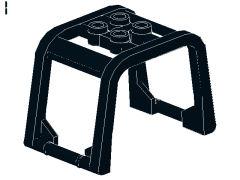 %64450 風防[黒]6x4x3(ロールゲージ)