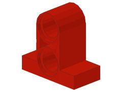 %32530 ペグコネクタ[赤]1x2x1.6(ペグ穴x2)