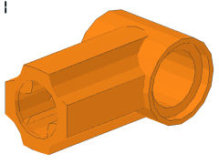 %32013 angle connector[オレンジ] No1