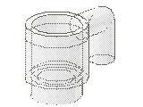%3899 ミニフィグカップ[透明]