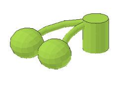 サクランボ[黄緑]