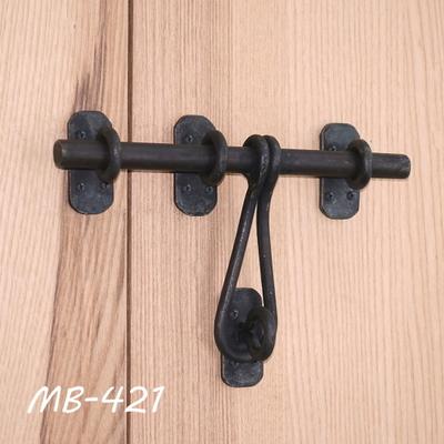 MB-421 貫抜金具 鉄 黒色 MB-421
