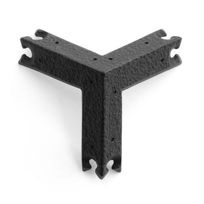 鉄鋳物 箪笥飾金具 三方面とんぼ