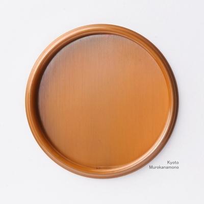 襖引手 素銅細縁丸
