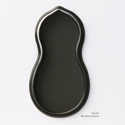 襖引手 赤銅瓢箪形(ひょうたん)