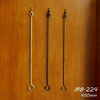 MB-224 真鍮吊り下げロングフック(フック小) MB-224