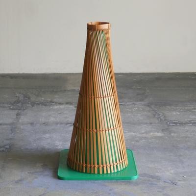 竹製 カラーコーンカバー