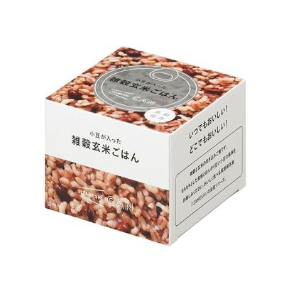 CAN缶詰 小豆が入った雑穀玄米ごはん