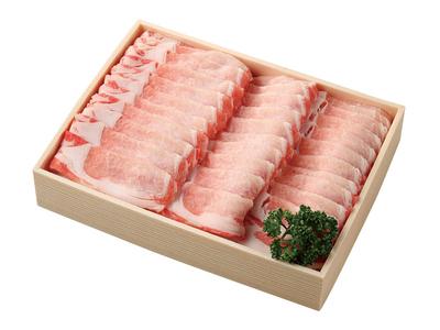 黒豚ロース(しゃぶしゃぶ用)700g【岡山県美星町産】