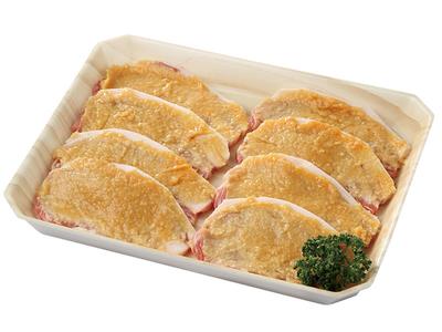 こうじ味噌漬けロース肉(80g×4枚 2P)【岡山県美星町】