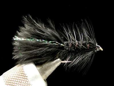umpqua ウーリーバガー black #10