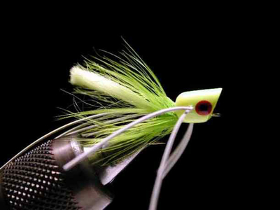 umpqua マイクロポッパー chartreuse #12