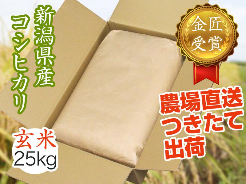 【令和2年産】県認証コシヒカリ 玄米(25kg)