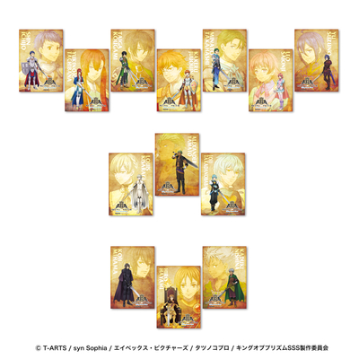 「KING OF PRISM -Shiny Seven Stars-」等身ブロマイド付きドリンクチケット