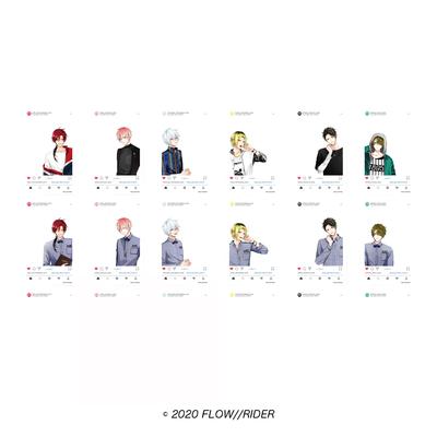 「Flow//Rider」クリアカードコレクションVol.1