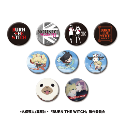 「BURN THE WITCH」缶バッジ