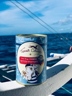 数量限定【テラカニス】夏限定缶!犬の航海士 Sea Dogシードッグ