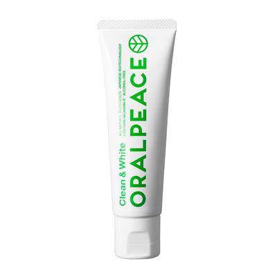 【ORALPEACE】 オーラルピース クリーン&ホワイト(オーガニック・ホワイトニング歯磨きジェル)