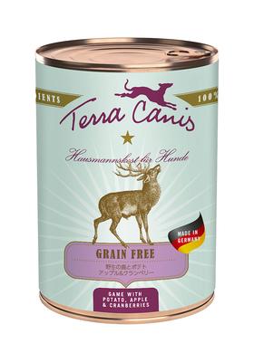 【テラカニス】グレインフリー 鹿肉