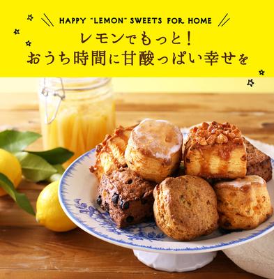 【冷凍お届け】「レモンと楽しむ  ぼくのスコーン」スコーン 4種 計8個+レモンカード