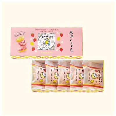 東京レモンチェ(春色いちごとレモン)5個入