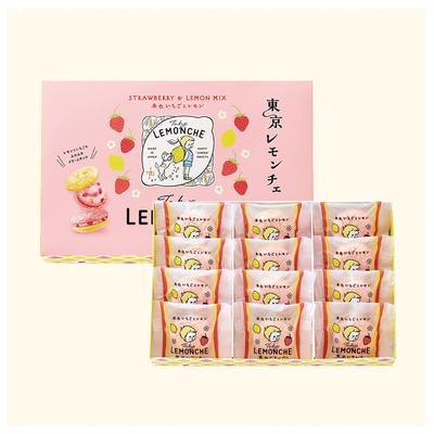 東京レモンチェ(春色いちごとレモン)12個入