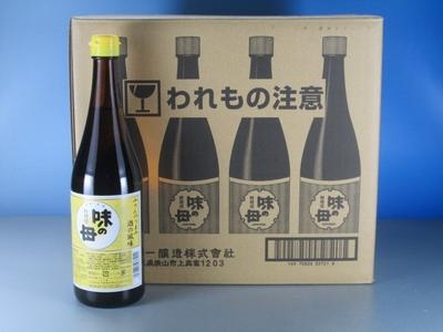 【同梱不可】味醂のうまみ・酒の風味!味の母(1ケース)【送料込み】