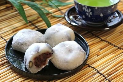 黒豆塩大福 4個