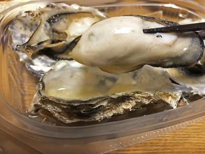 レンジで簡単♪三陸産殻付き牡蠣 3個