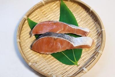 北海道産 秋鮭切身 2切入