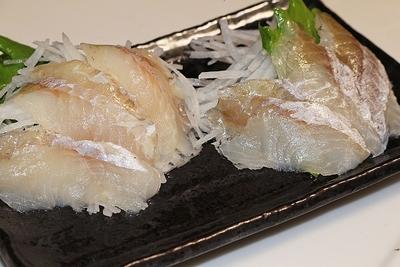 透き通った白身 お刺身金頭(カナガシラ)スライス済み60g