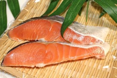 北海道産 時鮭切身 2切入