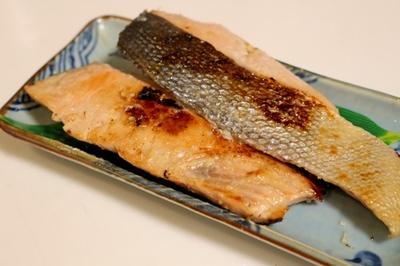 粕の香り広がる 秋鮭粕漬け 2切
