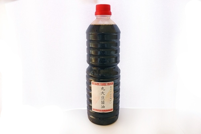 まろやかな味わいの丸大豆醤油 1L