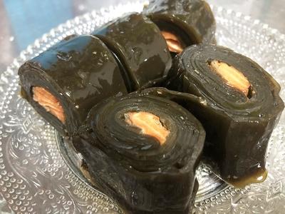 紅鮭昆布巻き1本
