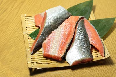 【数量限定】お徳用紅鮭切身(尾) 330g