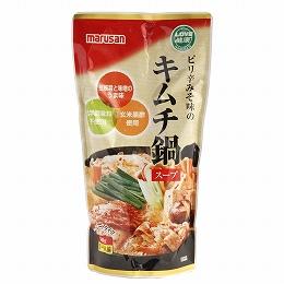 ピリ辛みそ味のキムチ鍋スープ600g(約3~4人前)