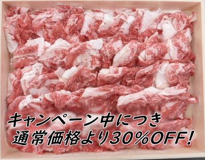 【お肉でスタミナキャンペーン】信州白樺若牛 切落し 500g