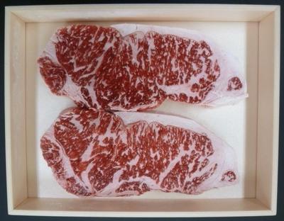 【お中元キャンペーン】信州白樺若牛 ロースステーキ2枚入り 500g