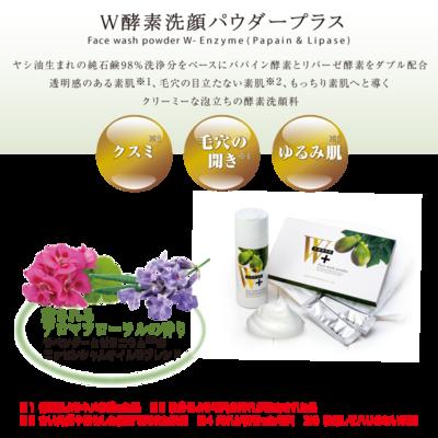 【送料無料】W酵素洗顔パウダーパック(30回分)